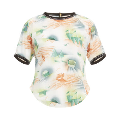 LOEWE Forest T-Shirt Top Multicolor front