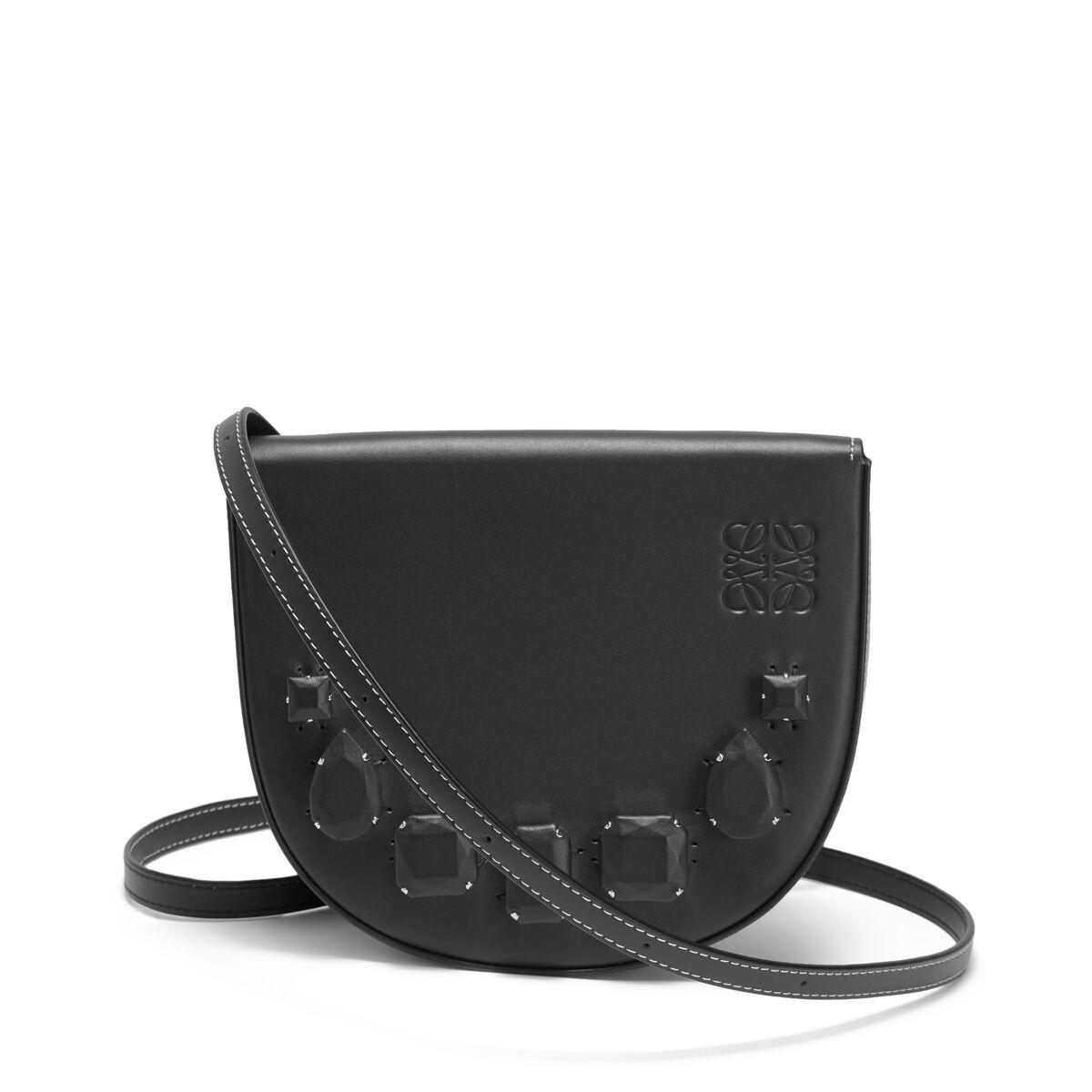 LOEWE Heel Mini Bag Jeweled Black all