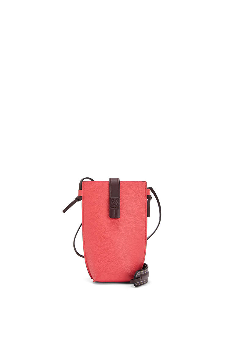 LOEWE Pocket In Soft Grained Calfskin Poppy Pink pdp_rd