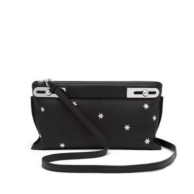 LOEWE Missy Stars Small Bag Black/Silver front