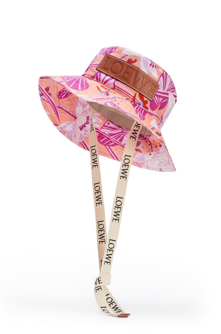 LOEWE 印花帆布渔夫帽 粉色 pdp_rd