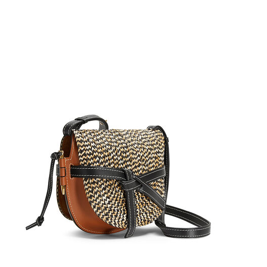 LOEWE Gate Small Bag Tan front