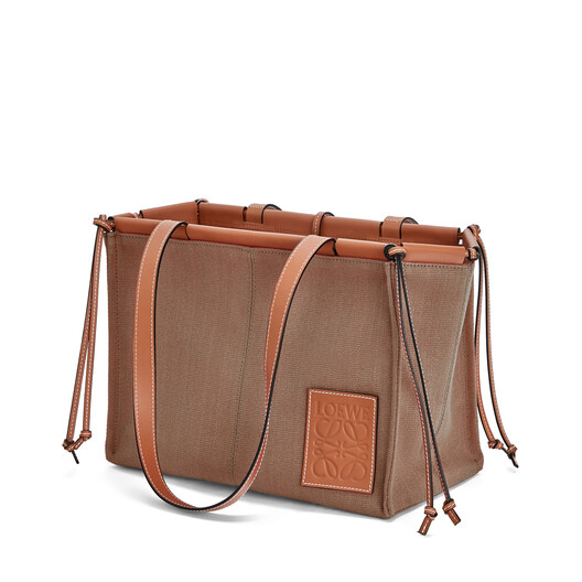 LOEWE Cushion Tote Bag Taupe front