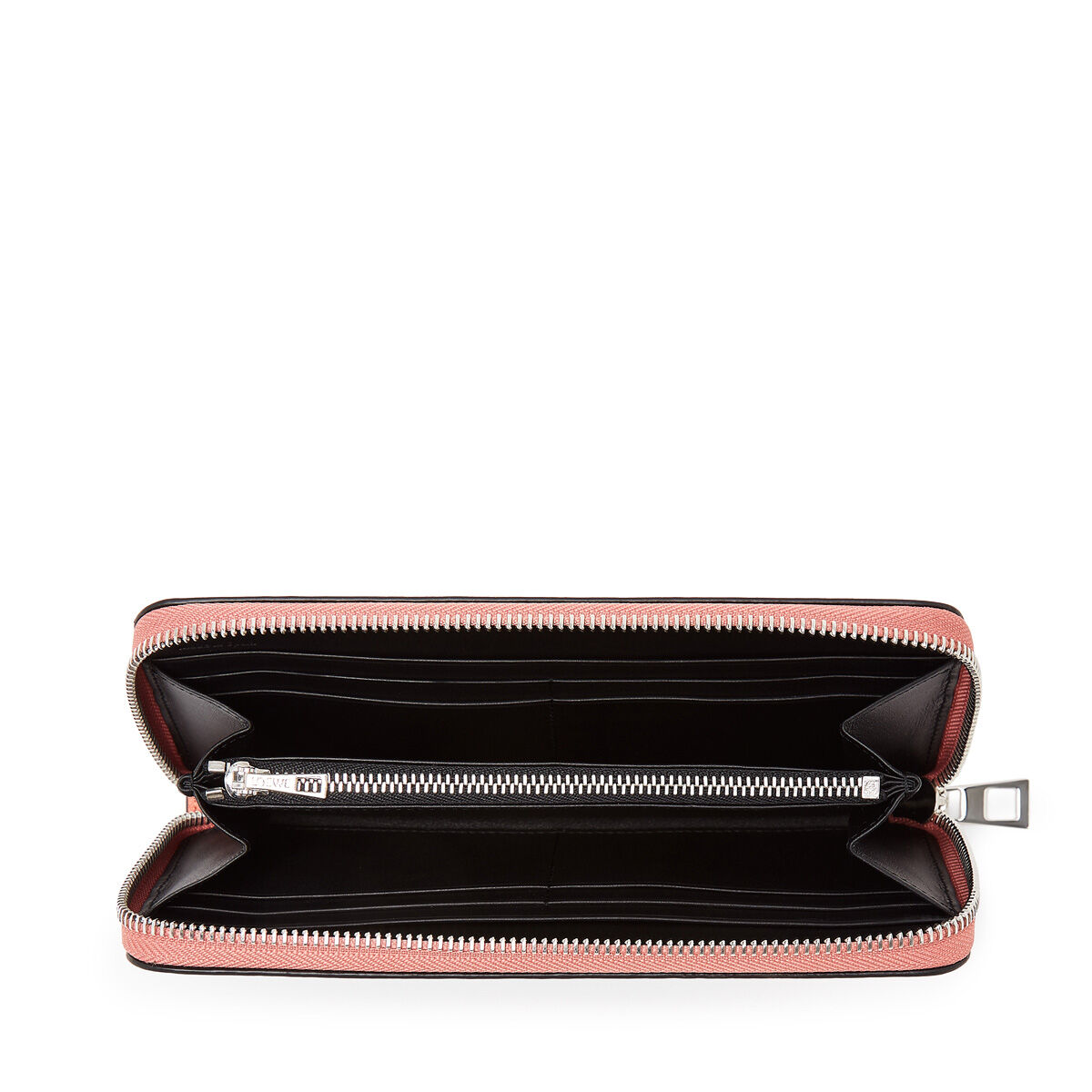 LOEWE Zip Around Wallet Pink Tulip/Black all