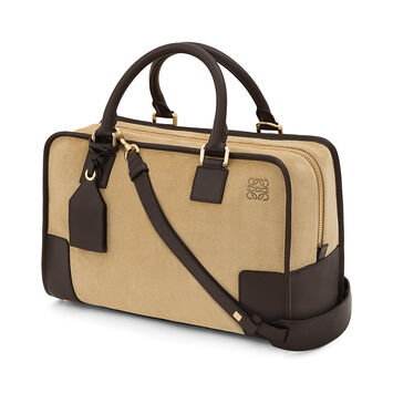 LOEWE Amazona Bag Gold/Brown front