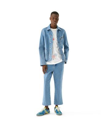 LOEWE Denim Jacket Azul Denim front