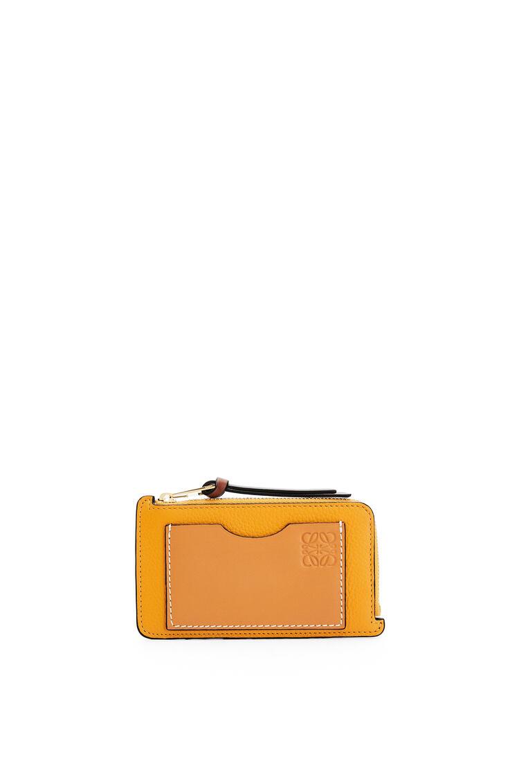 LOEWE コイン カードホルダー (ソフトグレインカーフ) Sunflower/Honey pdp_rd