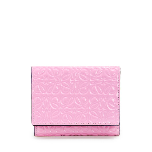 LOEWE Trifold Wallet Candy front