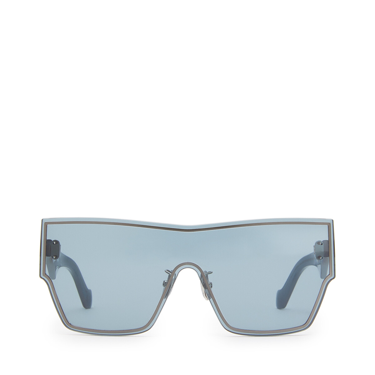 LOEWE Large Mask Sunglasses Vintage Blue front