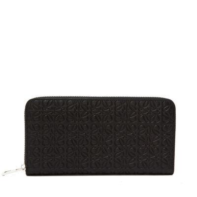 LOEWE Zip Around Wallet Black front