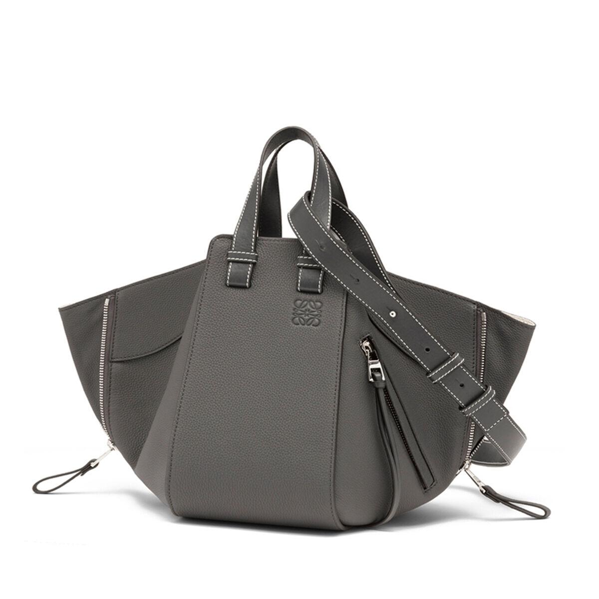 LOEWE Hammock Small Bag 煤灰色 all