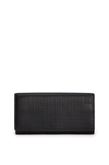 LOEWE Continental wallet in calfskin Black pdp_rd