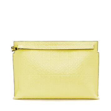 LOEWE T Pouch Repeat Amarillo front