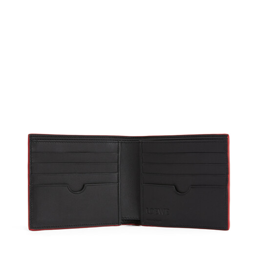 LOEWE Brand Bifold Wallet Lime front