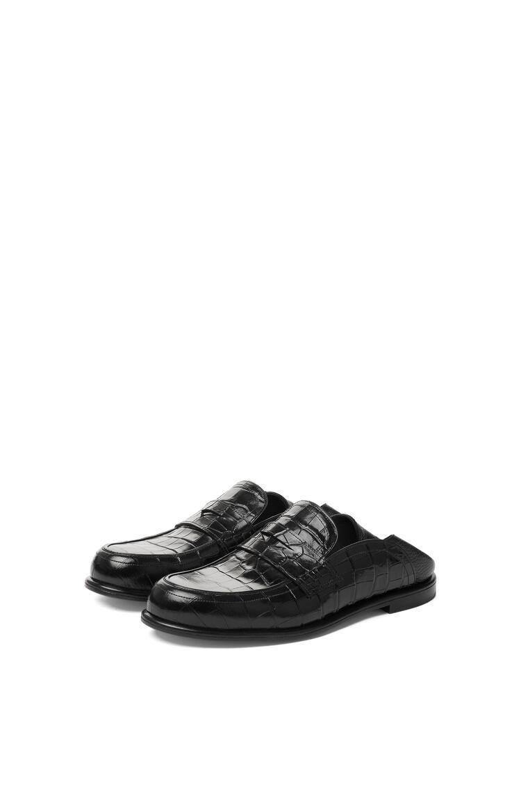 LOEWE Slip On Loafer Black/Black pdp_rd