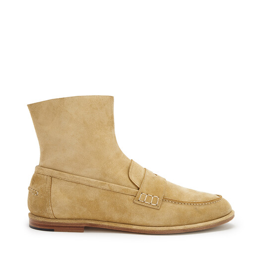 LOEWE Loafer Boot ゴールド front