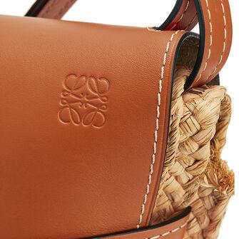 LOEWE Gate Small Bag Tan/Natural front