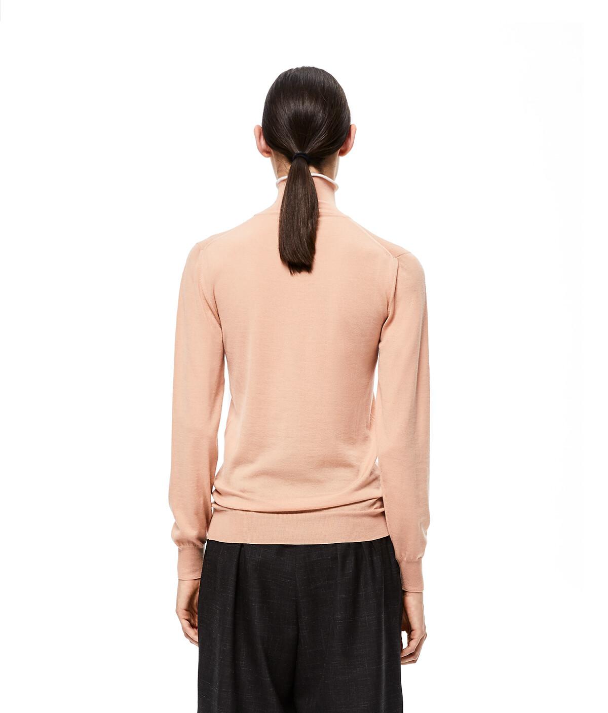 LOEWE Angram Turtleneck Sweater Piel Clara front