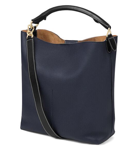 LOEWE T Bucket Bag Midnight Blue/Black all