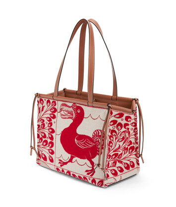 LOEWE Bolso Cushion Tiles Rojo front
