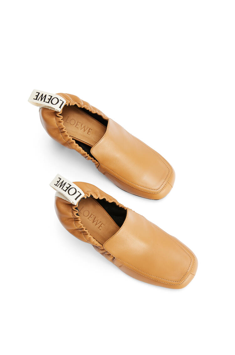 LOEWE Elasticated loafer 70 in calf Desert pdp_rd