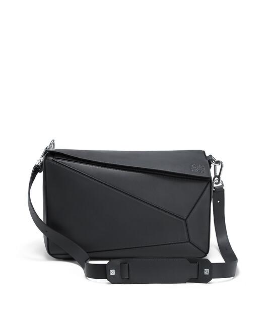 LOEWE Puzzle Xl Bag Deep Blue front