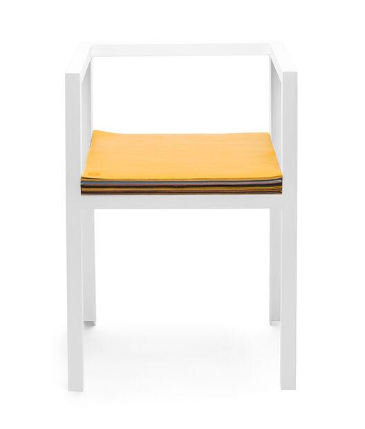 LOEWE Set Chair W/ Layers Of Leather ホワイト/マルチカラー all
