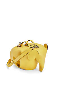 LOEWE Large Elephant bag in classic calfskin Yellow pdp_rd