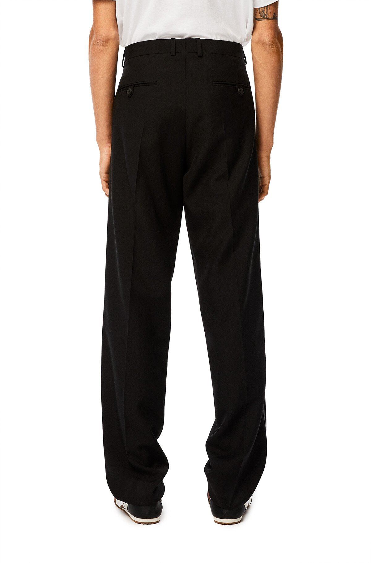 LOEWE Trousers 黑色 front