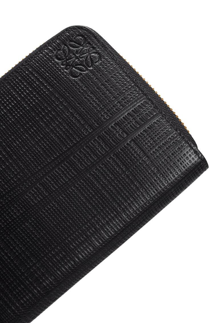 LOEWE Zip around wallet in calfskin Black pdp_rd