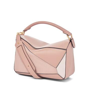 LOEWE Puzzle Bag Blush Multitone front
