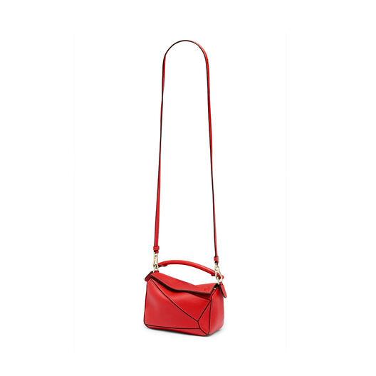 LOEWE Mini Puzzle Bag Scarlet Red all