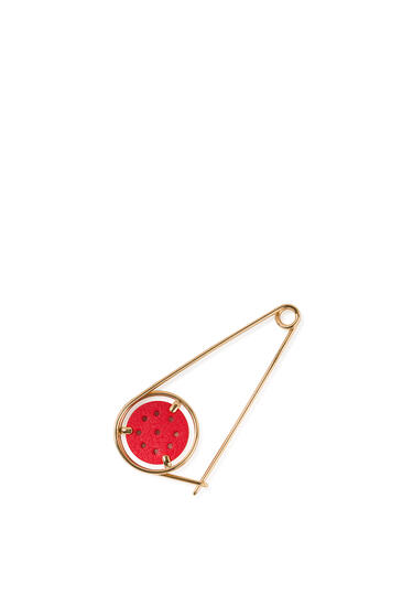 LOEWE Small Meccano Pin Red/Gold pdp_rd