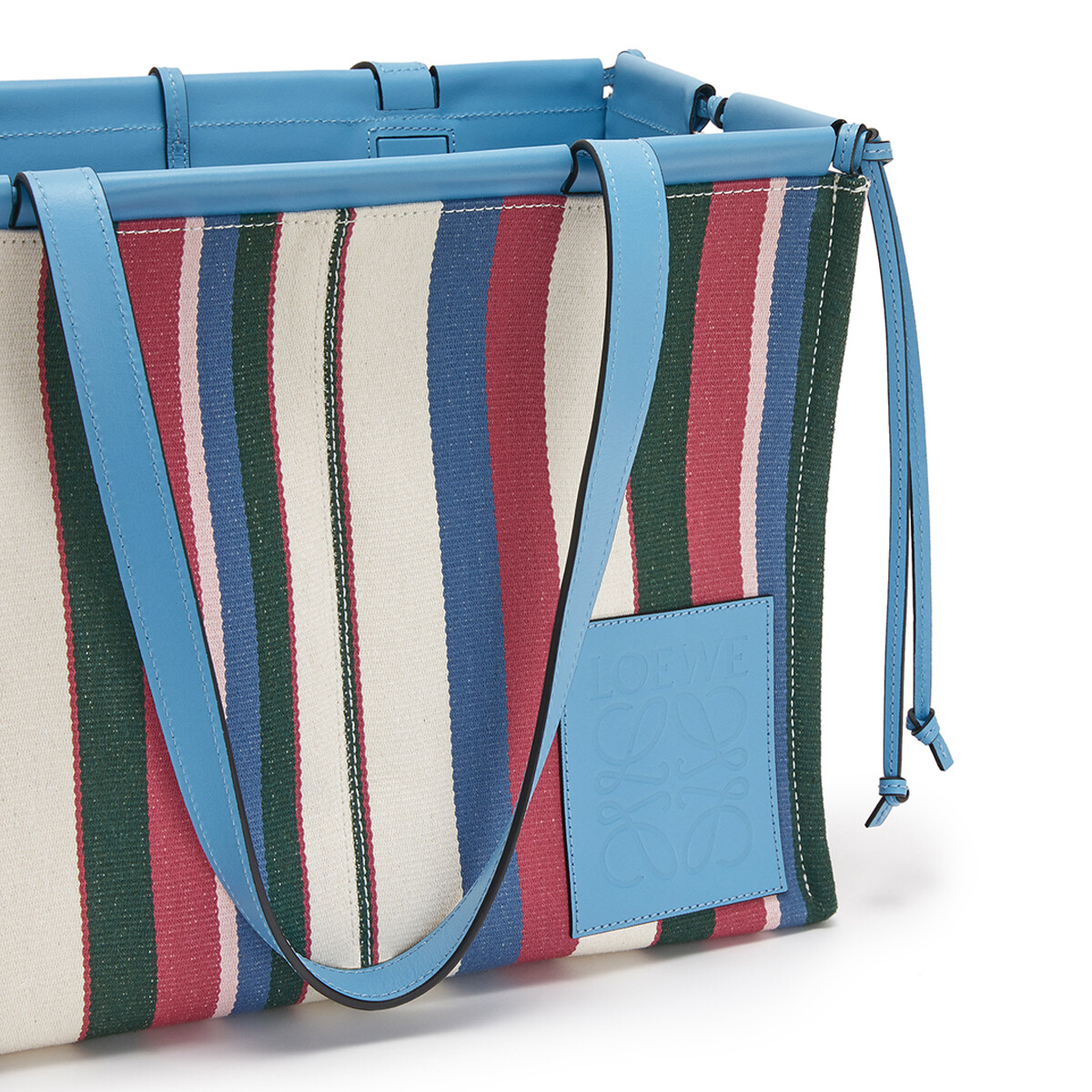 Cushion Tote Stripes
