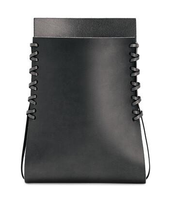 LOEWE Folded Vase ブラック front
