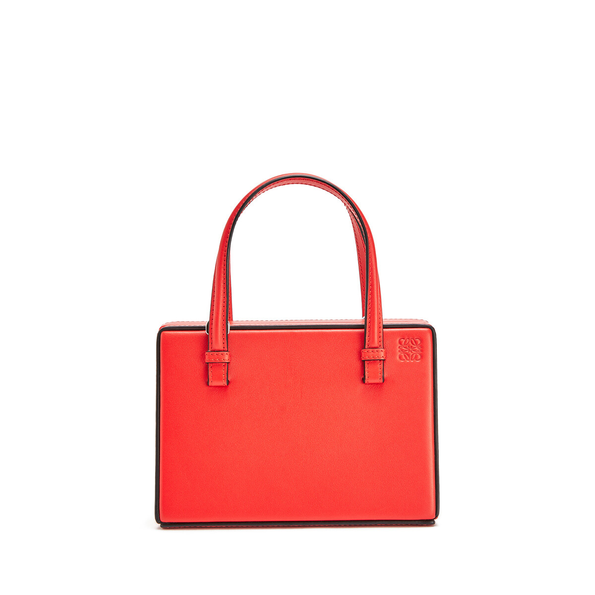 LOEWE Postal Madrid Small Bag Red front