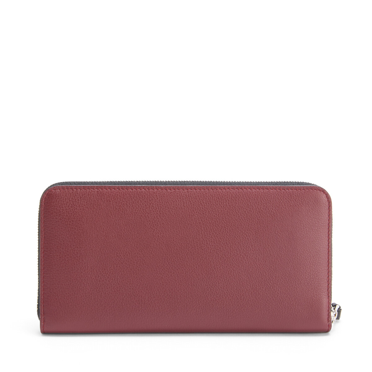 LOEWE Patch Zip Around Wallet Wine front