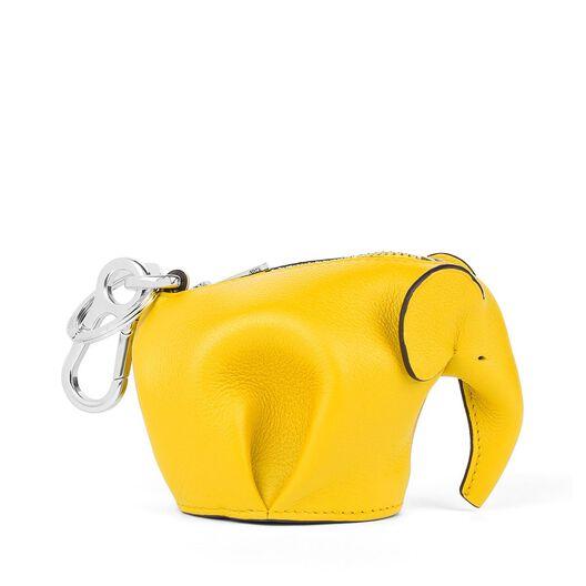 LOEWE Elephant Charm Yellow front