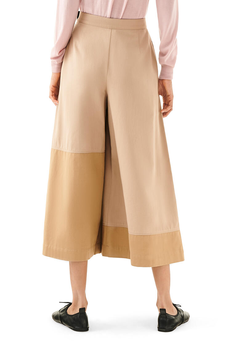 LOEWE Culotte trousers in cotton Beige/Camel pdp_rd