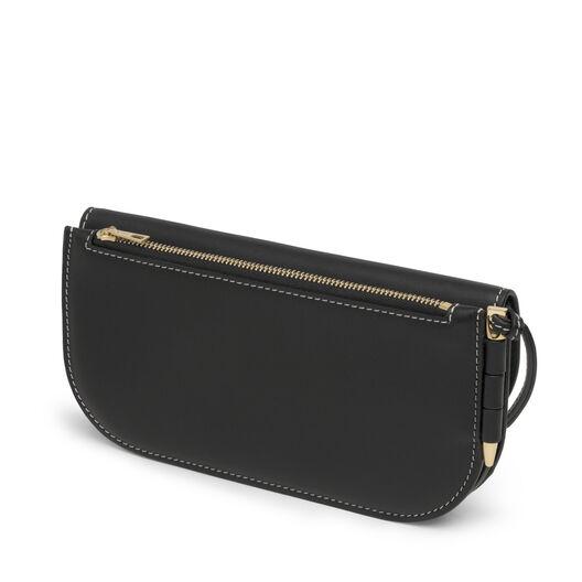 LOEWE Gate Continental Wallet Black/Oxblood all