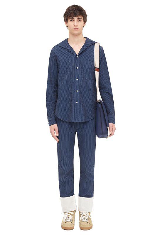 LOEWE 5 Pockets Trouser Marino all