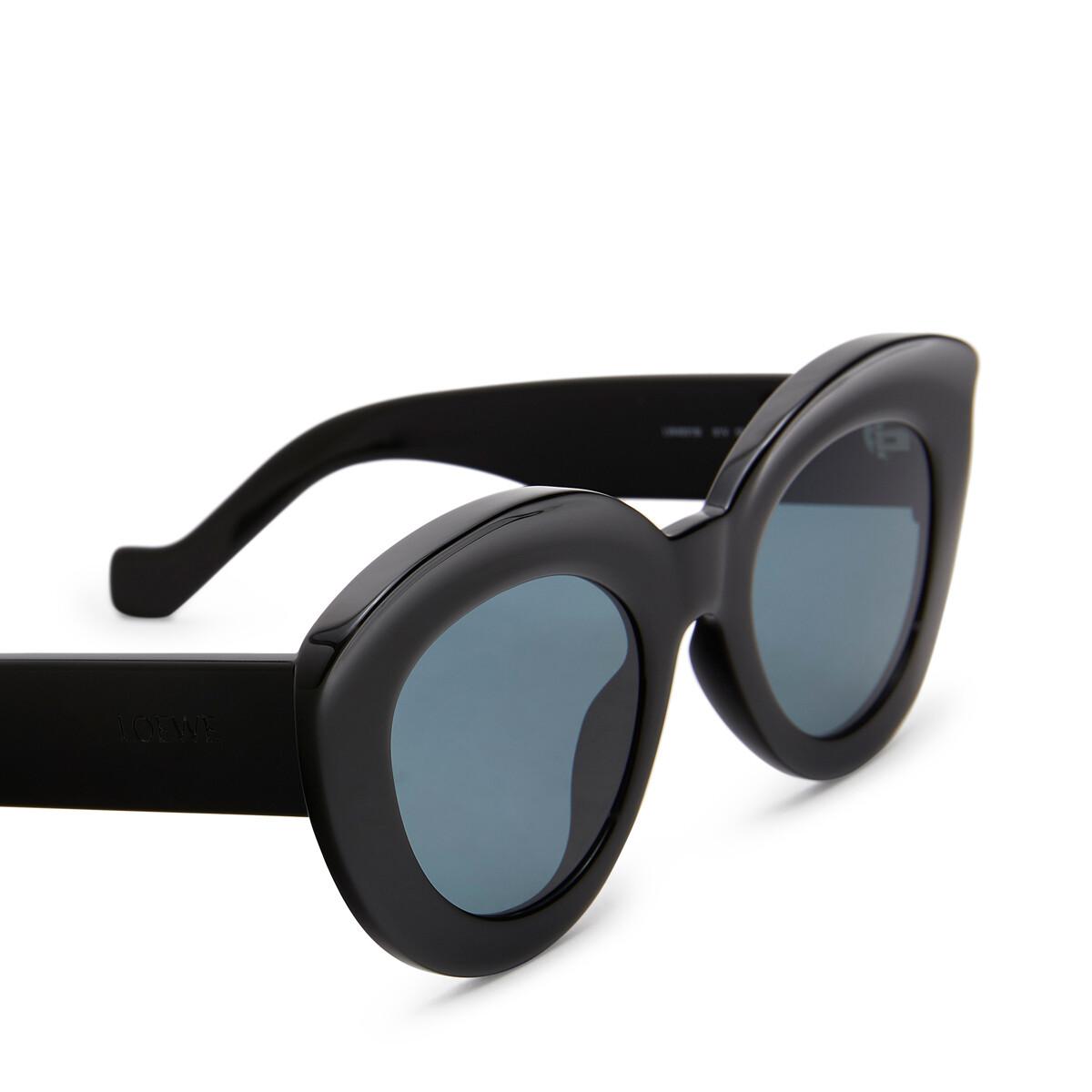 LOEWE バタフライサングラス ブラック front