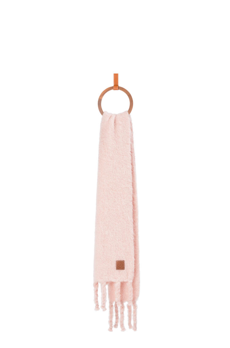 LOEWE Scarf in mohair and wool Light Pink pdp_rd