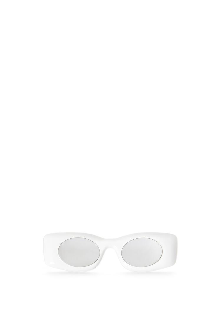 LOEWE Gafas de sol en acetato Blanco pdp_rd