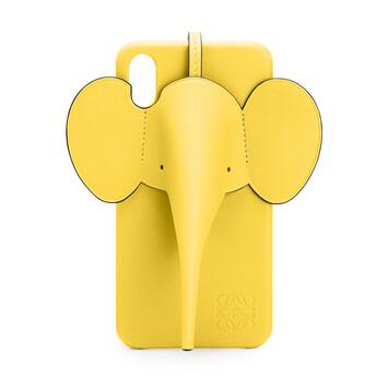LOEWE Funda Elefante Para Iphone Xs Max Amarillo front