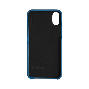 LOEWE Cover For Iphone X Indigo front