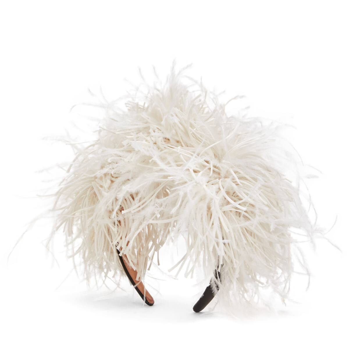 LOEWE Feathers Headband White front