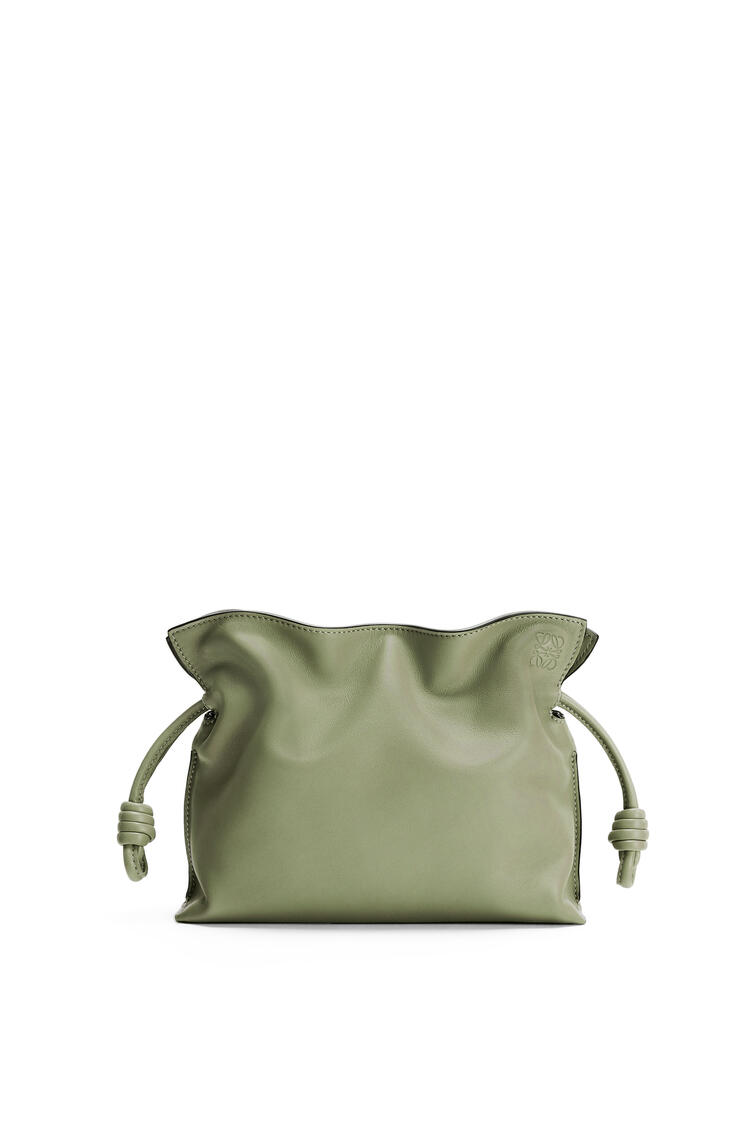 LOEWE Mini Flamenco clutch in nappa calfskin Rosemary pdp_rd
