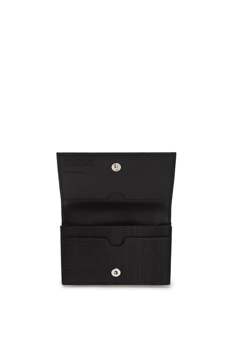 LOEWE Business cardholder in calfskin Black pdp_rd