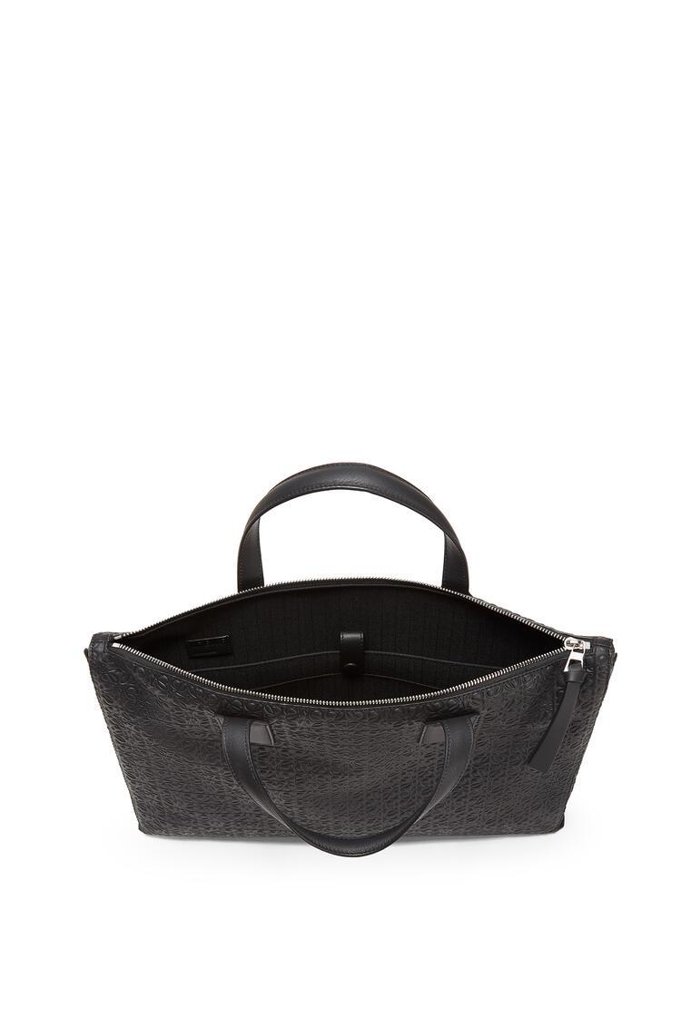 LOEWE Goya simple briefcase in calfskin Black pdp_rd